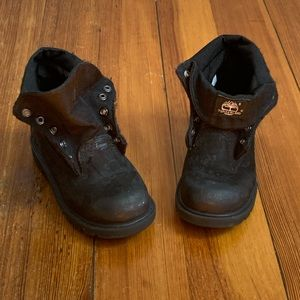 TIMBERLAND TODDLER CLASSIC ROLL-TOP BOOTS SIZE 9